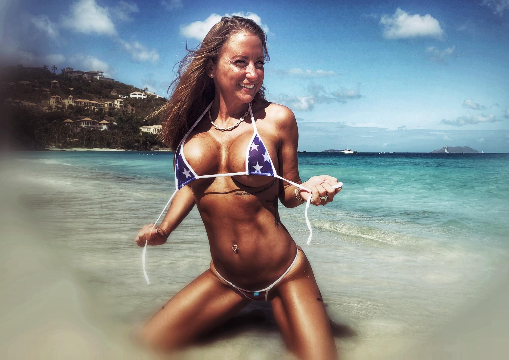 sherri gulley bikini model st john usvi